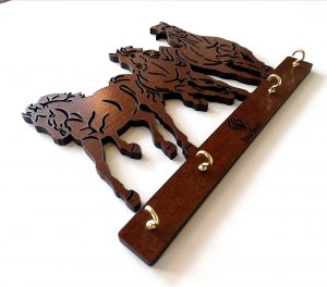 Porta llaves caballos 2
