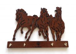 Porta llaves caballos
